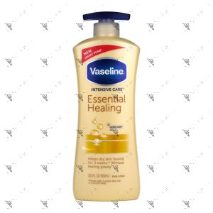 Vaseline Lotion 600ml Total Moisture/Essential Healing