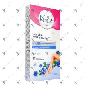 Veet Wax Strips 20s Sensitive Skin