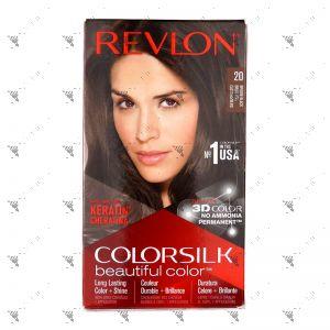 Revlon ColorSilk 2n Brown Black 20