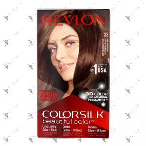 Revlon ColorSilk 3WB Dark Soft Brown 33