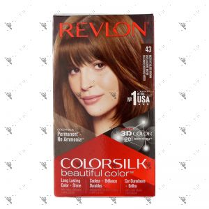 Revlon ColorSilk 4G Medium Golden Brown 43