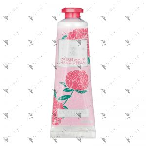 L'Occitane Hand Cream 30ml Pivoine Flora