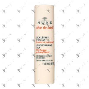 Nuxe Lip Moisturising Stick 4g With Honey & Sunflower