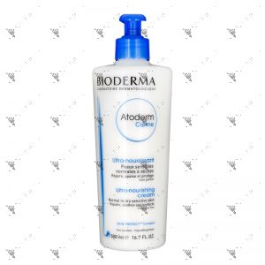 Bioderma Atoderm Creme 500ml Fragrance Free