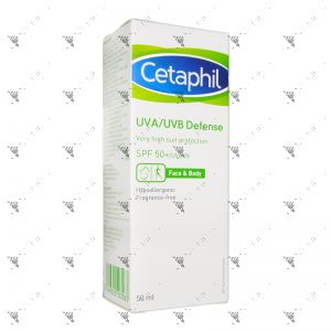 Cetaphil UVA/UVB Defense Cream SPF50+ 50ml
