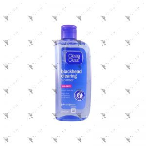 Clean & Clear Blackhead Clearing Cleanser 200ml Oil-Free