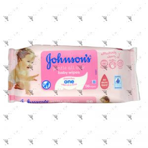 Johnson's Baby Wipes 56s Gentle All Over