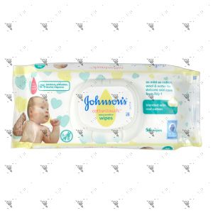 Johnson's Baby Wipes 56s Cotton Touch