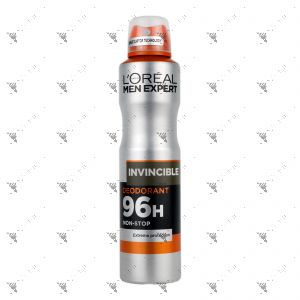 L'Oreal Deodorant Spray Men Expert Invincible 250ml