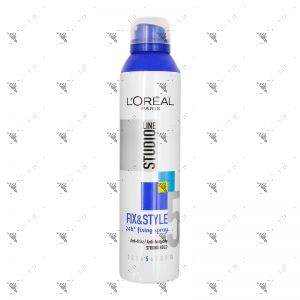 Studio Line Fix&Style 250ml 24h Fixing Spray Strong Hold