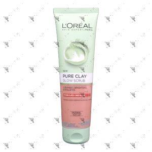 L'Oreal Pure Clay Glow Scrub 150ml