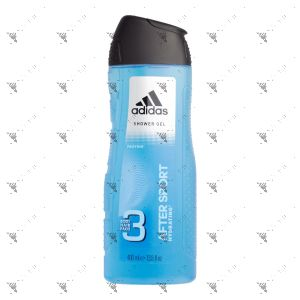 Adidas Body Hair Face 3in1 After Sport 400ml