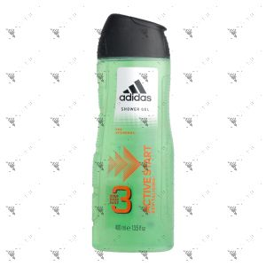 Adidas Body Hair Face 3in1 Active Start 400ml