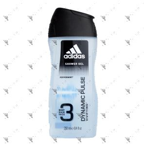 Adidas Body Hair Face 3in1 Dynamic Pulse 250ml