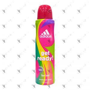 Adidas Deodorant Body Spray 150ml Get Ready!