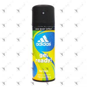 Adidas Deodorant Spray 150ml Get Ready !