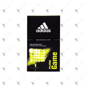 Adidas Men's EDT 100ml Pure Game