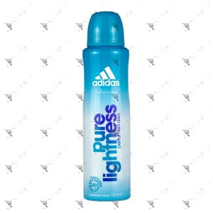 Adidas Deodorant Body Spray 150ml Pure Lightness