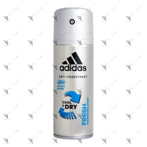 Adidas Anti-Perspirant 150ml Cool & Dry Fresh