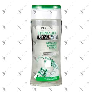 Revuele Hydralift Micellar Express Lotion 200ml Make-Up Remover for Eyes & Lips