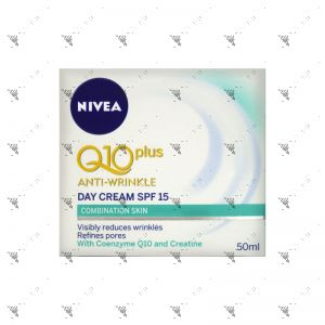 Nivea Q10 Plus Anti Wrinkle Day Cream SPF15 50ml