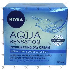 Nivea Aqua Sensation Invigorating Day Cream 50ml