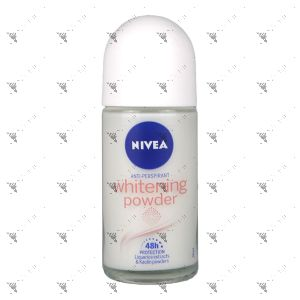 Nivea Roll-On Deodorant 50ml Whitening Powder