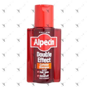 Alpecin Caffeine Shampoo 200ml Double Effect