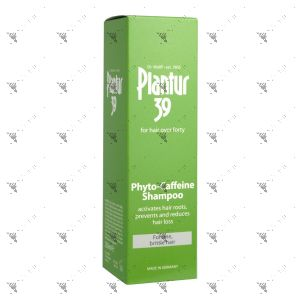 Plantur 39 Phyto-Caffeine Shampoo 250ml for Fine, Brittle Hair