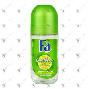 Fa Deo Roll-On Caribbean Lemon Fresh 50ml