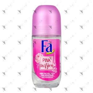 Fa Deo Roll-On Pink Passion 24 hour 50ml