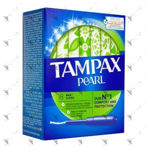 Tampax Pearl Super (18 Tampons)