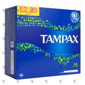 Tampax Super (20 Tampons)