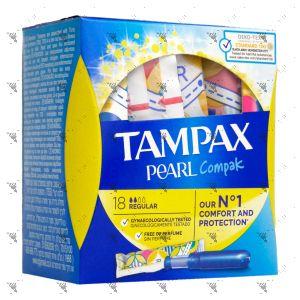 Tampax Compak Pearl Regular (18 Tampons)