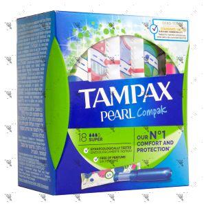 Tampax Pearl Compak Super (18 Tampons)