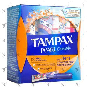 Tampax Pearl Compak Super Plus (18 Tampons)