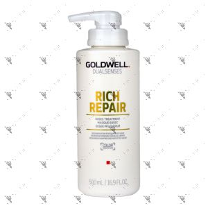 Goldwell Dualsenses Rich Repair 60 Seconds Treatment 500ml Color Protection