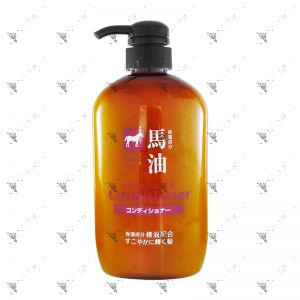 KUMANO Horse Oil Conditioner with Tsubaki Oil 600ml