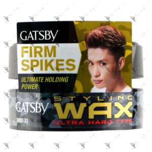 Gatsby Styling Wax 80g Ultra Hard Black