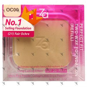 Za Perfect Fit Two-Way Foundation (R) OC00 SPF 20 PA++