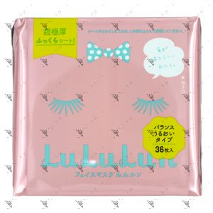 LuLuLun Face Mask Pink 36s