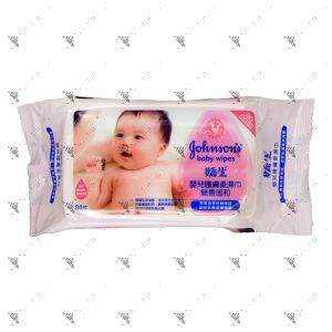 Johnson's Baby Wipes 80s Soft Pink