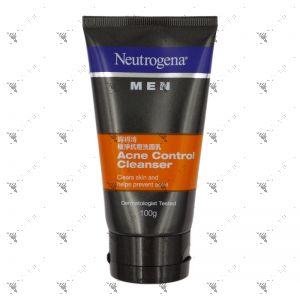 Neutrogena Men Acne Control Cleanser 100g