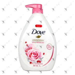 Dove Bodywash 1000g Go Fresh Softening