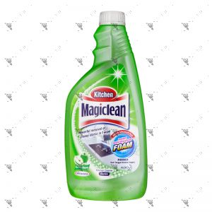 Kao Magiclean Kitchen Cleaner Refill 500ml Green Apple