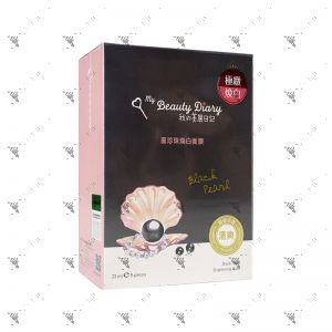 My Beauty Diary Mask 8s Black Pearl Brightening