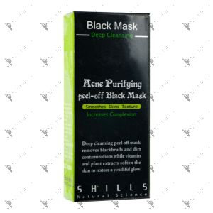 Shills Acne Purifying Peel-Off Black Mask 50ml