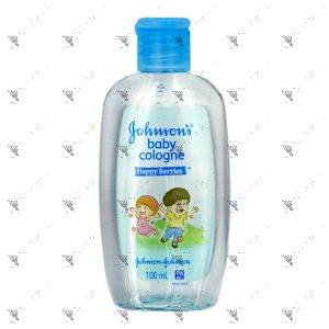 Johnson's Baby Cologne 100ml Happy Berries