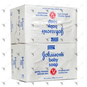 Johnson's Baby Soap (100gx4) Regular White
