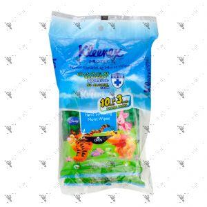 Kleenex Hand Sanitizing Moist Wipes 10sx3 Protect Disney